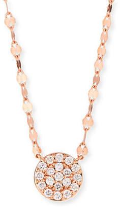 Lana 14k Flawless Diamond Pave Disc Pendant Necklace