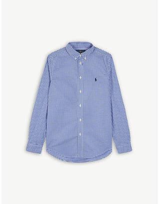 Ralph Lauren Gingham check cotton shirt S-XL