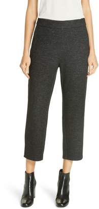 Eileen Fisher Twill Knit Crop Trousers