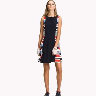 Tommy Hilfiger Stripe Side Sheath Dress