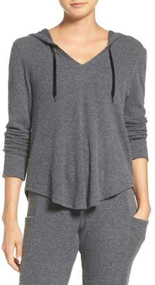 MAKE + MODEL Ribbed Hoodie $49 thestylecure.com