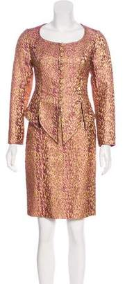 Christian Lacroix Wool-Blend Skirt Suit