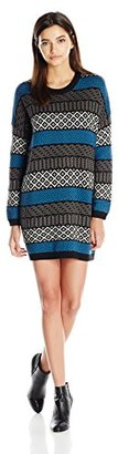 Element Women's Arty Boyfriend Fit Sweater Dress $42.51 thestylecure.com