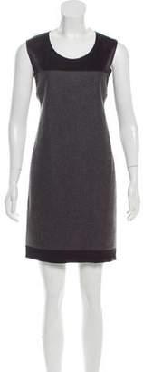 Stella McCartney Wool-Paneled Sleeveless Dress