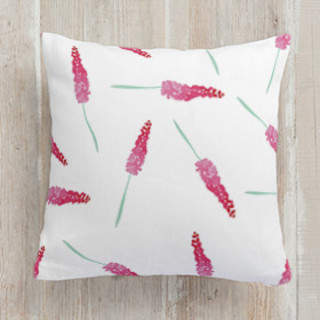 French Floral Self-Launch Square Pillows
