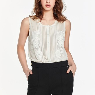 Black Label Suzanne Sleeveless Blouse Bodysuit
