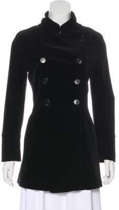 Theory Velvet Short Coat