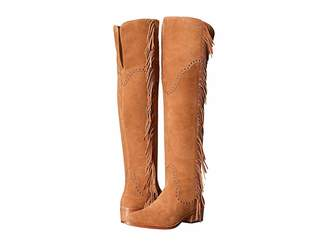 Frye Ray Fringe Over-The-Knee Women's Boots