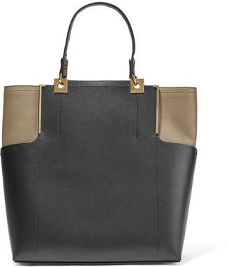 Lanvin Two-tone leather tote $2,950 thestylecure.com