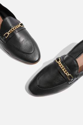 Topshop KEY Trim Loafers