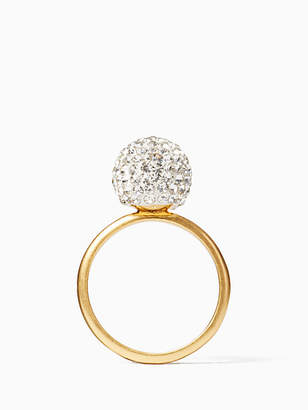 Kate Spade Razzle dazzle bauble ring