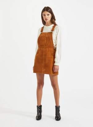 Miss Selfridge Cord pinafore dress