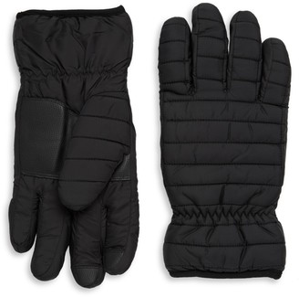 Saks Fifth Avenue Quilted Gloves