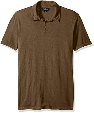 Velvet by Graham & Spencer Men's Randall Cotton Slub Classic Polo
