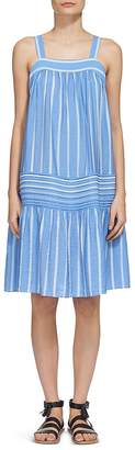 Whistles Simone Striped Smock Dress $239 thestylecure.com