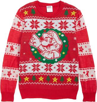 JEM x Nintendo Super Mario(TM) Holiday Sweater
