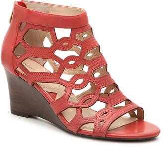 Adrienne Vittadini Raine Wedge Sandal - Women's