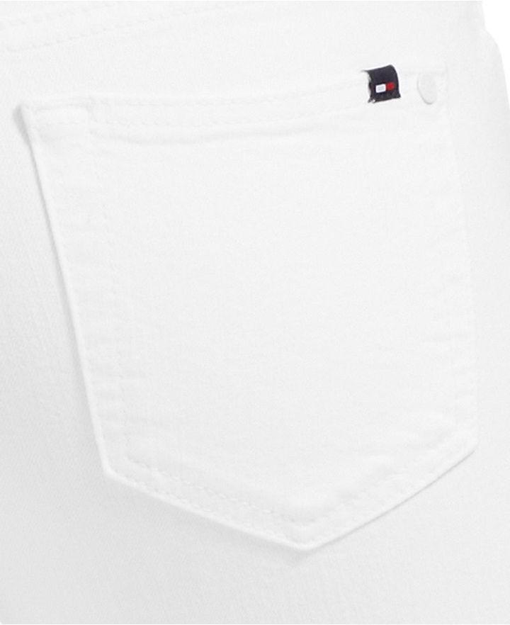 Tommy Hilfiger Skinny Ankle Jeans, White Wash