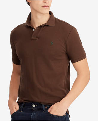 Polo Ralph Lauren Men Custom Slim Fit Mesh Polo