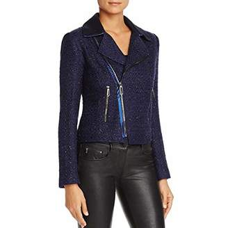T Tahari Women's Boucle Crystal Jacket