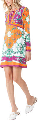 Hale Bob V Neck Printed Dress