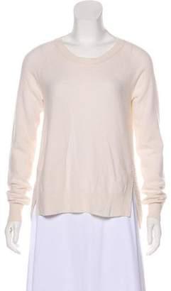 Allude Merino Wool Scoop Neck Sweater