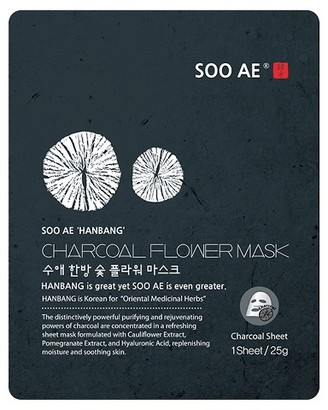 Soo Ae® Han Bang Charcoal Flower Essence Mask - 5 count $25 thestylecure.com