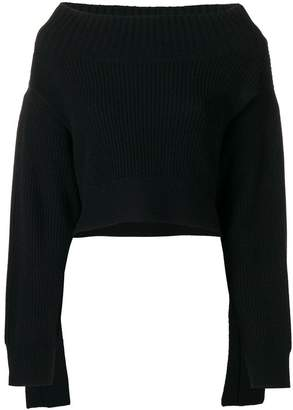 Schumacher Dorothee off-the-shoulder oversized sweater