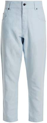 Haider Ackermann Dropped-crotch tapered trousers