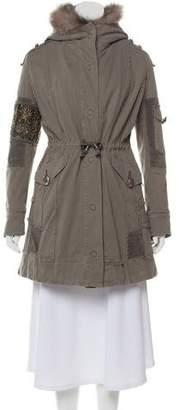 Project Foce Singleseason Hooded Military Jacket