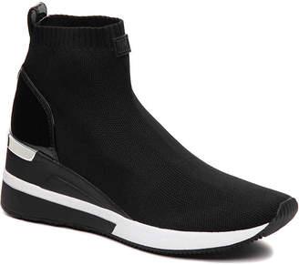 MICHAEL Michael Kors Skyler Wedge Slip-On Sneaker - Women's
