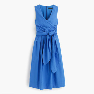 Wrap dress in cotton poplin $138 thestylecure.com