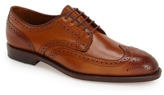 Men's Allen Edmonds 'Madison Park' Wingtip $385 thestylecure.com
