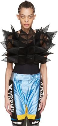 Junya Watanabe Black Geometric Top $1,245 thestylecure.com
