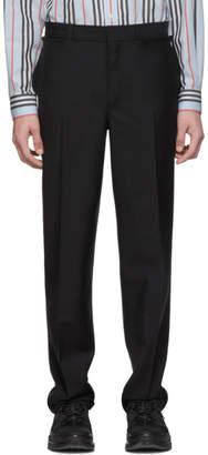 Burberry Black Flap Trousers