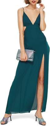 Topshop Cutout Side Maxi Dress