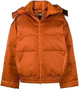 Y-3 short padded jacket