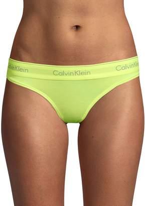 Calvin Klein Underwear Modern Logo Thong