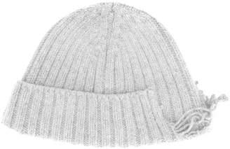 Diesel distressed knitted hat