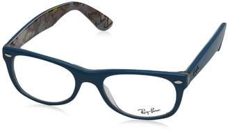 Ray-Ban RX5184 Wayfarer Eyeglasses-5407 Blue/Texture-50mm