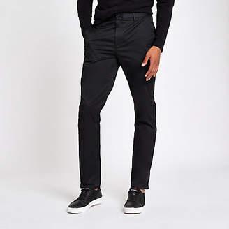 River Island Black slim fit chino pants