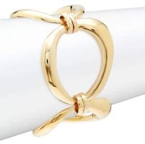 Rivka Friedman 18K Goldplated Oval Link Bracelet