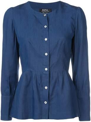 A.P.C. peplum blouse