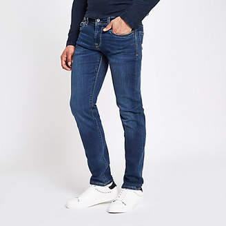 River Island Pepe Jeans blue slim fit jeans