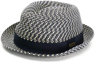 Barbour pattern knit hat