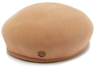 Maison Michel New Bonnie Rabbit Felt Beret - Womens - Camel
