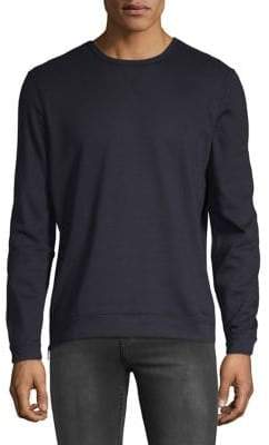 John Varvatos Solid Zip Sweater