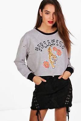 Charlie Oriental Ring Detail Sweatshirt