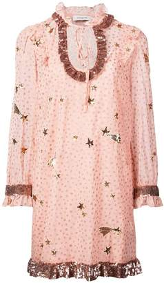 Coach Outerspace print dress
