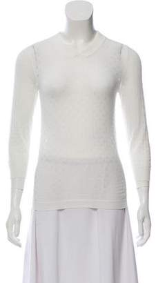 Marc Jacobs Knit Long Sleeve Sweater